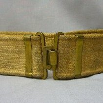 Image of Canvas Web Belt - Military - 1942 C