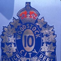 Image of Signs-Woodstock Police Department - 1985 C