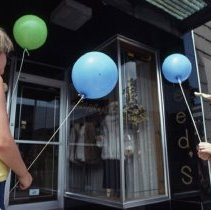 Image of Sidewalk Sales- Children with Balloons - 1985 C