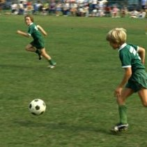 Image of Soccer Game - 1985 C