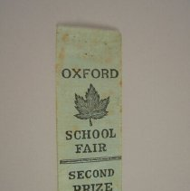 Image of Oxford School Fair Second Prize - 1923 C