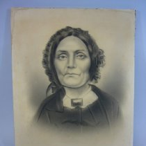 Image of Portrait of Mary (Harrison) Jackson - 1857 C