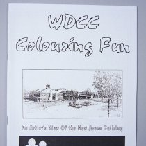Image of Woodstock District Community Complex Colouring Book - 1996 C