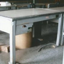 Image of Finishing Tables - 2006