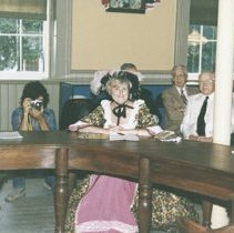 Image of Council and Audience, City Council Meeting at Museum - 1996