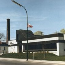Image of Police Department on Dundas Street - 1984 C