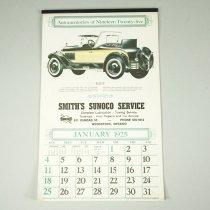 Image of Smith's Sunoco Service Calendar, 1925 (1981) - 1981
