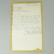 Image of Letter to Fire Chief - 1961/01/26