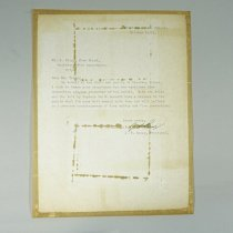 Image of Letter To Fire Chief - 1963/10/10