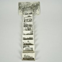 """Image of Postcard with """"24 Snapshots of Woodstock as seen by Rubber-necks"""" - 1909 C"""