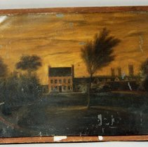 Image of Light Oil Painting - 1847 C