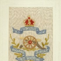 Image of Embroidered Greeting Card - 1905 C