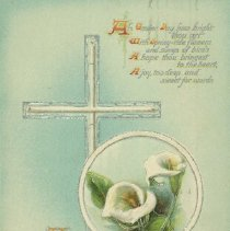 Image of Easter card - 1912