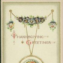Image of Thanksgiving card - 1915 C