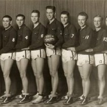 Image of Basketball - YMCA Junior Basketball Western Ontario Champions, 1930-31 - 1931
