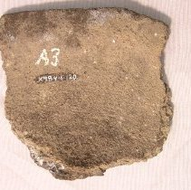 Image of Pottery Vessel Rim Sherd - 1000 BC to 600 AD