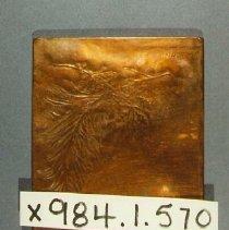 Image of Bronze Plaque - WW1 - 1918