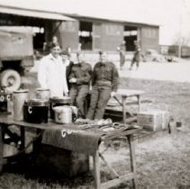 Image of Camp Kitchen - 1944/04