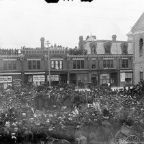 Image of People at Parade - 1901