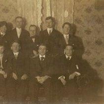 Image of Bain Wagon Company Office Staff - 1900