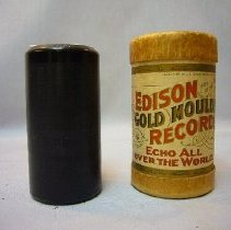 Image of Phonograph Record Cylinder and Container - 1907 C
