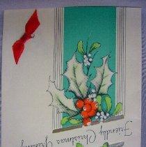 Image of Christmas Greeting Card - 1930