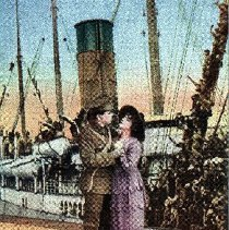 """Image of Postcard """"The Anchor's Weighed"""" - 1915 C"""