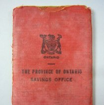 Image of The Province of Ontario Savings Office Book - 1939/09/30 to 1948/09/30