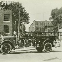 Image of Bickle Fire Engine for Port Hope - 1929