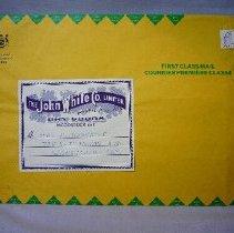 Image of John White Co. Limited Envelope - 1977