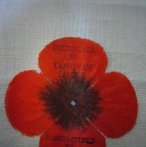 Image of Candian Legion Poppy - 1935 C