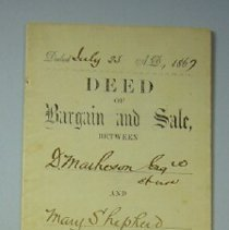 Image of Deed - 1867/07/23