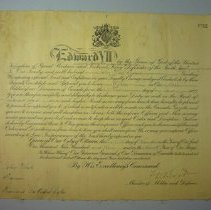 Image of Oxford Rifles Certificate - 1907