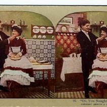 Image of Novelty Stereograph Card - 1910 C