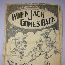 "Image of ""When Jack Comes Back"" Sheet Music - 1917 C"