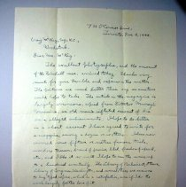 Image of Letter addressed to Craig Mckay. - 1944/12/09