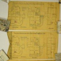 Image of Residence Plan for R.N. Ball - 1895 C