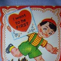 Image of Valentine Card - 1947
