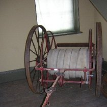 Image of Hose Wheel Cart (Hand drawn) - 1915 C