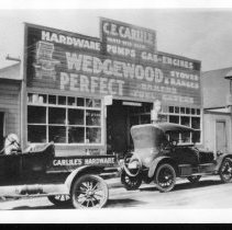 Image of Print, Photographic - Carlile Hardware Building