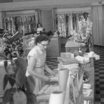 Image of Print, Photographic - Moore's Dry Goods Store 1952