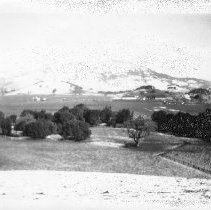 Image of Print, Photographic - Snow of hills of Novato