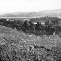Image of Print, Photographic - Scene East of the Railroad Tracks in Novato