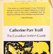 Image of The Canadian settler's guide                                                                                                                                                                                                                                   - 971.092 Tra