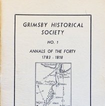 Image of Annals of the Forty, 1784-1818                                                                                                                                                                                                                                 - 971.353 Gri No. 1