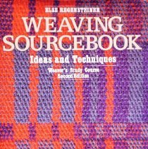 Image of Weaving Sourcebook: Ideas and techniques                                                                                                                                                                                                                       - 746.1 Reg