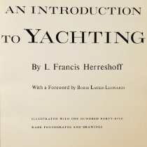 Image of An  introduction to yachting                                                                                                                                                                                                                                   - 797.1 Her