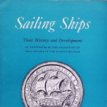 Image of Sailing ships; their history and development as illustrated by the                                                                                                                                                                                             - 387.2 Clo