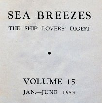 Image of Sea Breezes: the ship lovers' digest                                                                                                                                                                                                                           - 387.2 Sea