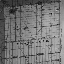 Image of Map of Trafalgar Township - Picture of map of Trafalgar Township and Nelson Township